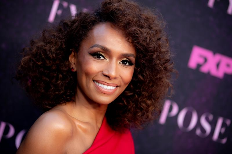Janet Mock attends a red-carpet event for Pose earlier this month. Mock is a writer, director and producer of the TV show about ball culture in 1980s New York City.