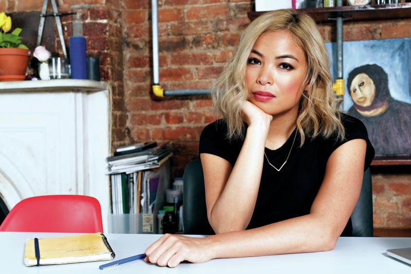 "When she was growing up, New Yorker culture writer Jia Tolentino attended a Houston megachurch with her family. ""The population was extremely white and wealthy, which my family was not,"" Tolentino says. Her new book is called Trick Mirror: Reflections on"