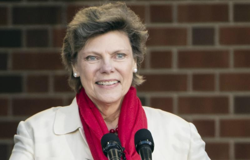 Cokie Roberts, a longtime political reporter and analyst at ABC News and NPR, died on Tuesday. Above, she speaks in 2017 during the opening ceremony for the Museum of the American Revolution in Philadelphia.