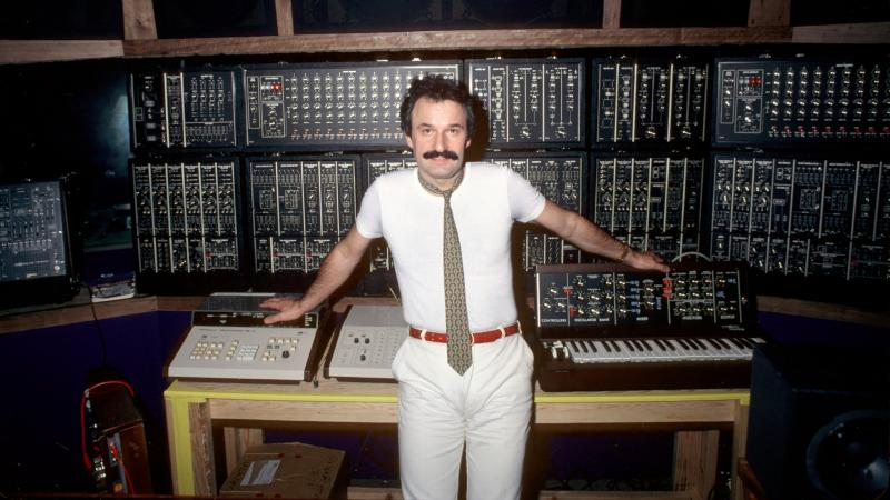 "Giorgio Moroder in 1979, the year his longtime collaborator, the singer Donna Summer, had a hit with ""Hot Stuff."""