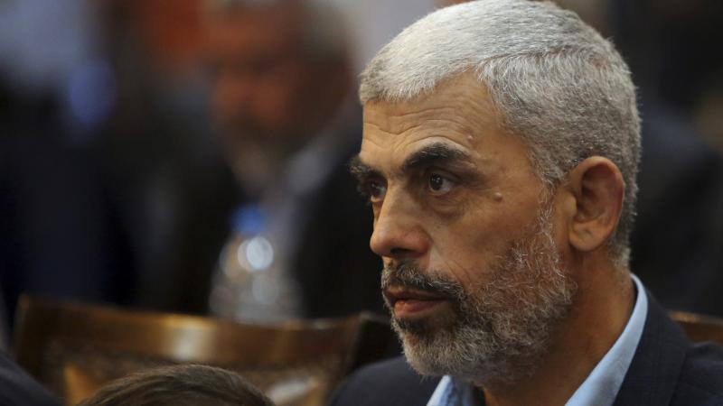 Yehiya Sinwar, Hamas' leader in Gaza, pictured in 2017, is in stable condition, according to Gaza's Health Ministry.