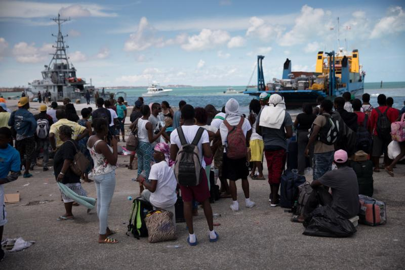 Getting Aid To Bahamas A Logistical Nightmare As Support