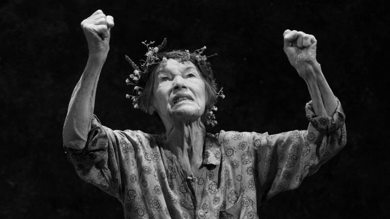 "Glenda Jackson plays the title role in Shakespeare's King Lear on Broadway. Jackson still gets nervous after decades on stage because she knows how ""easy it is to act really badly, and how very, very hard it is to act well."""