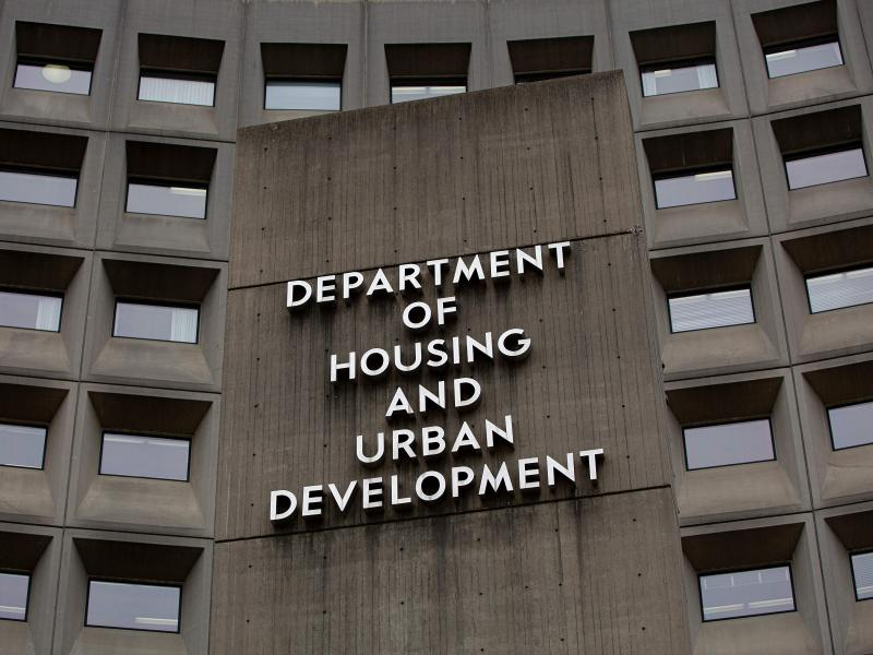 The U.S. Department of Housing and Urban Development says it is the first department to implement Biden's executive order to combat discrimination based on sexual orientation and gender identity.