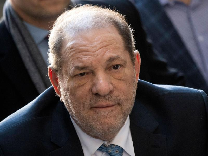 Harvey Weinstein is already serving a 23-year prison sentence for rape and sexual abuse in New York. He was extradited to California early Tuesday for his arraignment.
