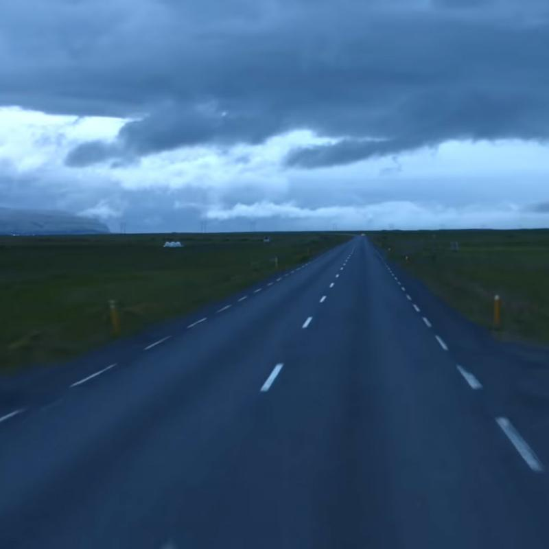"A still from ""Route One"" by Sigur Rós"