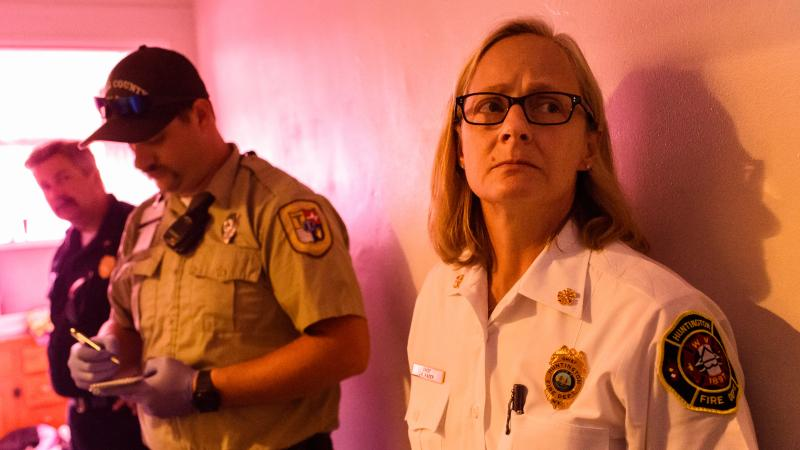 Huntington, W.V. Fire Chief Jan Rader is a central figure in the Netflix documentary short Heroin(e).