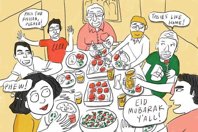 Eid feast