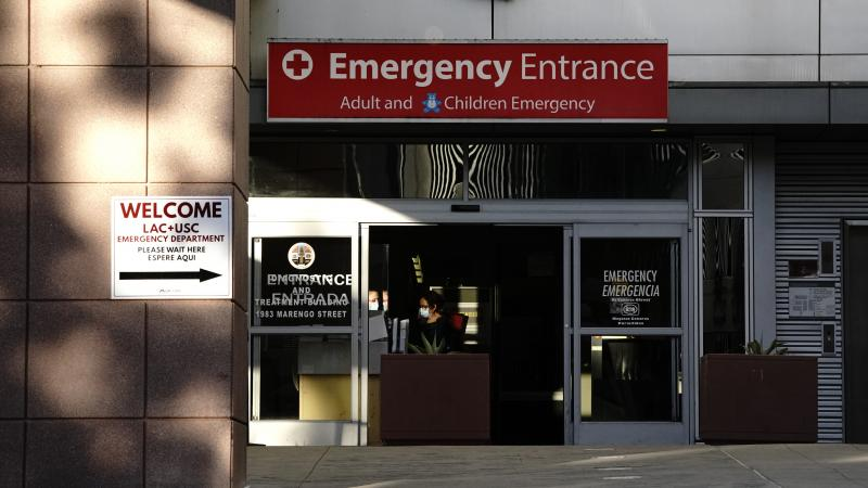Los Angeles County + USC Medical Center is one of the largest safety-net hospitals in the United States.