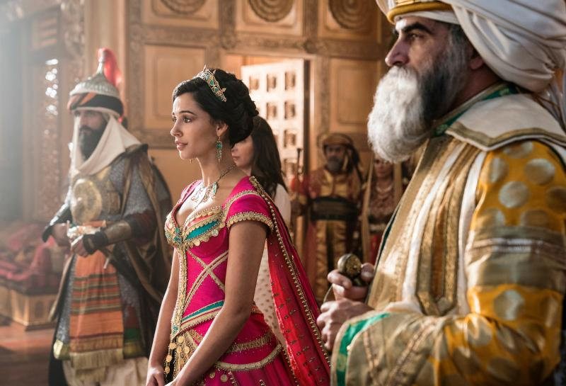 Naomi Scott plays Jasmine in the new live-action Aladdin movie. The character was the first official Disney princess of color in the 1992 animated version of the film.