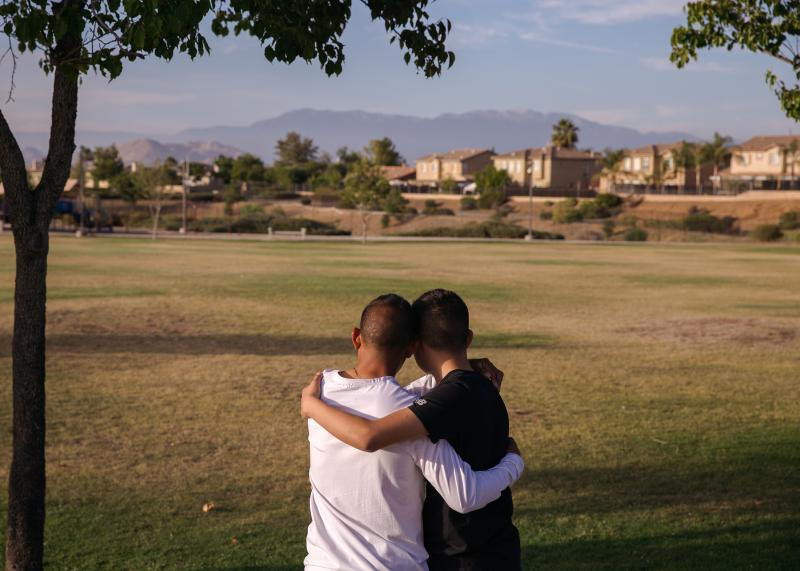 Melvin and his son Nestor were one family that was separated under former President Trump's zero tolerance immigration policy. Nestor says he would have nightmares about the separation.