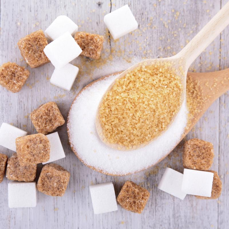 The average American consumes the equivalent of 19.5 teaspoons a day in added sugars, but there are no federal guidelines recommending a limit.