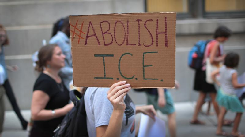 With some Democrats calling to abolish Immigration and Customs Enforcement, congressional negotiators want to cap the number of the agency's detention beds.