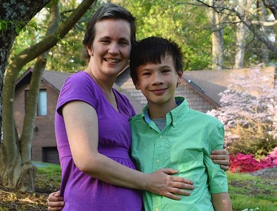 Sam and his mom