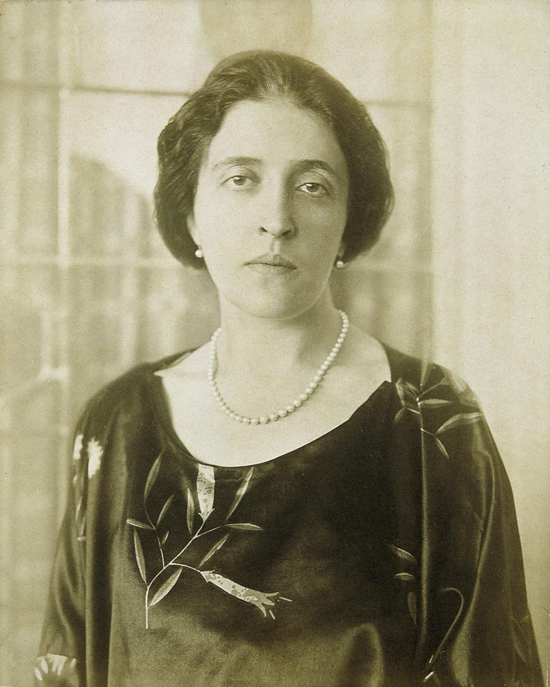 Adele Block-Bauer, photographed circa 1915, was from a prominent Jewish family in Vienna.