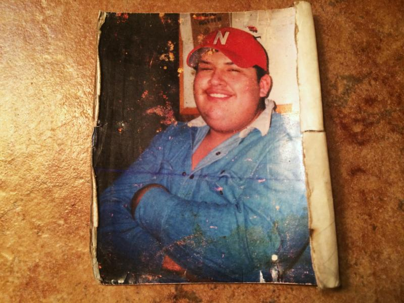 "Sabas Sanchez Jr. was better known among his neighbors in Madison, Neb., as ""Gordo"" — Spanish for chubby. He also had an oversized personality. His father keeps this tattered photo in his wallet."