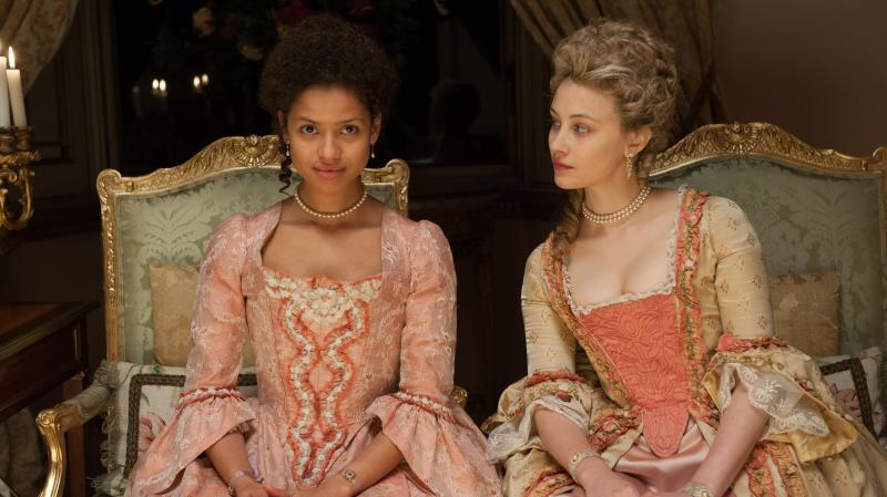 Gugu Mbatha-Raw plays Dido Elizabeth Belle, the illegitimate daughter of a British admiral.