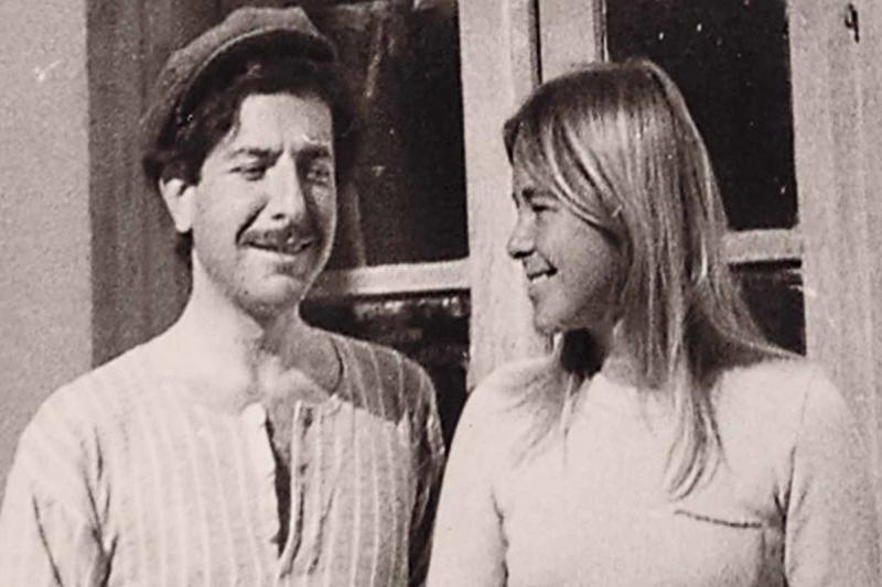 Director Nick Broomfield documents the love story between musician Leonard Cohen and his lover, Marianne Ihlen, in Marianne & Leonard: Words of Love.