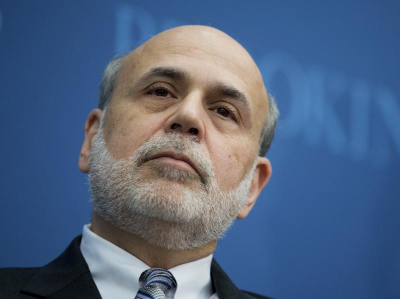 Former Fed Chairman Ben Bernanke says the tax cuts proposed by President Trump could boost the budget deficit.