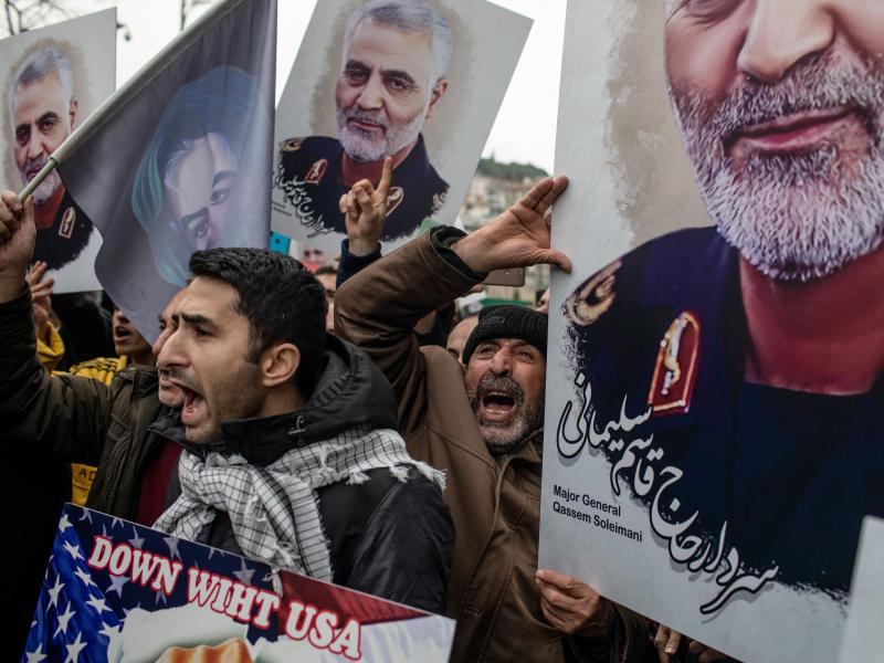 Experts say Iran may retaliate for the killing of Qassem Soleimani, its top military leader, with cyberattacks on American companies.