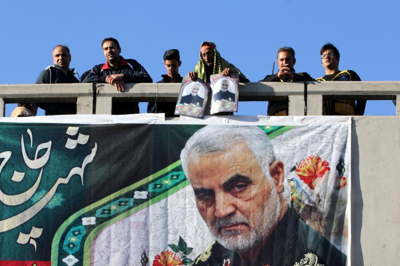 IRAN-IRAQ-US-UNREST