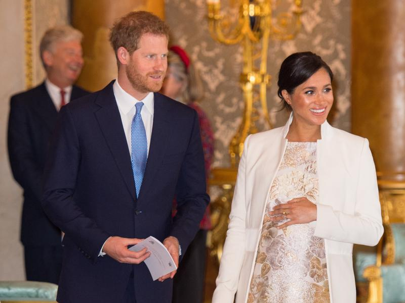 Britain's Prince Harry and Meghan Markle announced on their Instagram account the birth of their first child.