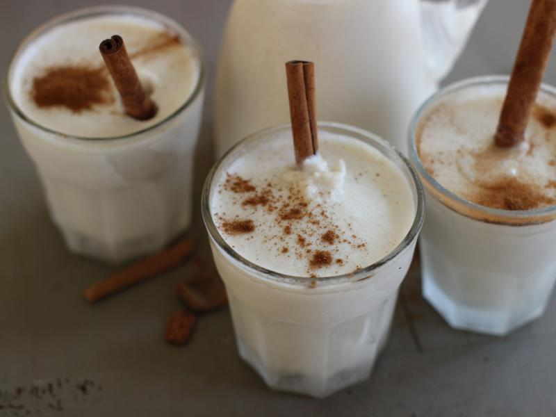 Puerto Rican coquito is traditionally made with a blend of coconut milk, rum and cinammon. The creamy, boozy rum punch is a holiday favorite to sip and to share this time of year.