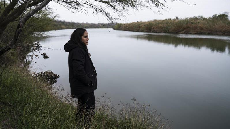 For five generations Nayda Alvarez's family has owned property along the Rio Grande near Rio Grande City, Texas. Alvarez says that if the border wall were built as laid out in preliminary maps, her house would end up about a yard away from it. This could