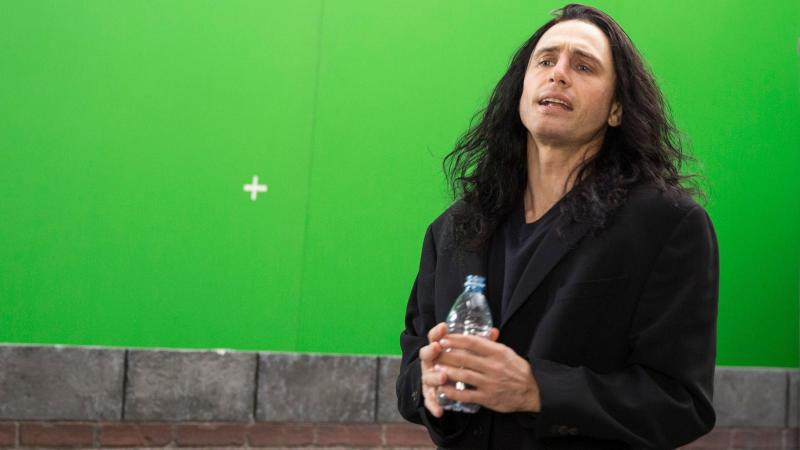 "James Franco plays eccentric filmmaker Tommy Wiseau in The Disaster Artist. Franco says Wiseau ""looks sort of like a mix between a vampire and a pirate and Michael Jackson. ... He has long black hair that looks like it's dyed with magic marker."""