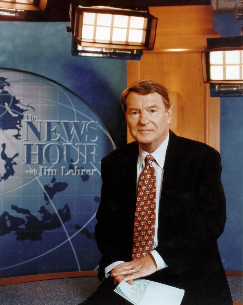 Jim Lehrer joined PBS in the 1970s and went on to moderate 12 presidential debates and write some 20 novels, three memoirs and several plays.