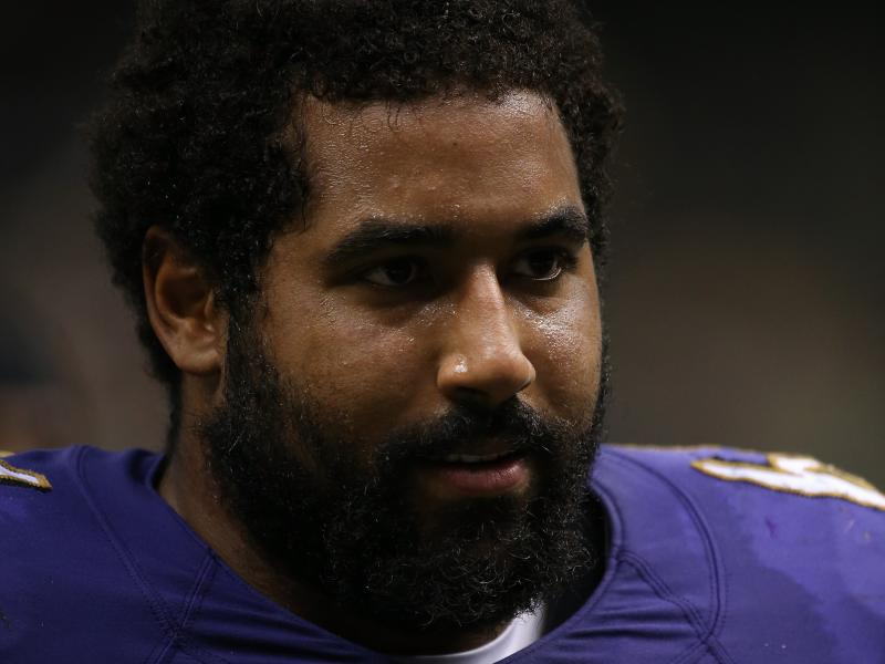Baltimore Ravens offensive lineman John Urschel is also a mathematician.
