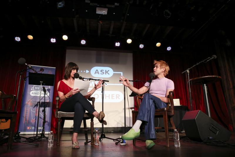 Ophira Eisenberg and Julio Torres chat on Ask Me Another at the Bell House in Brooklyn, New York.