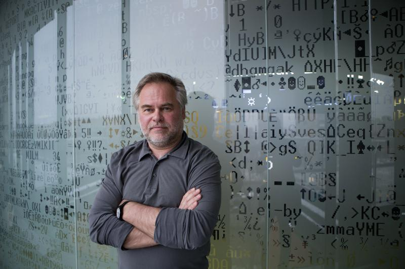 Eugene Kaspersky, founder and chief executive officer of Kaspersky Lab, at his office in Moscow last Dec. 9. Kaspersky and his firm have ties to the Russian government, but say that should not be cause for concern in the West, where the company's cybersec