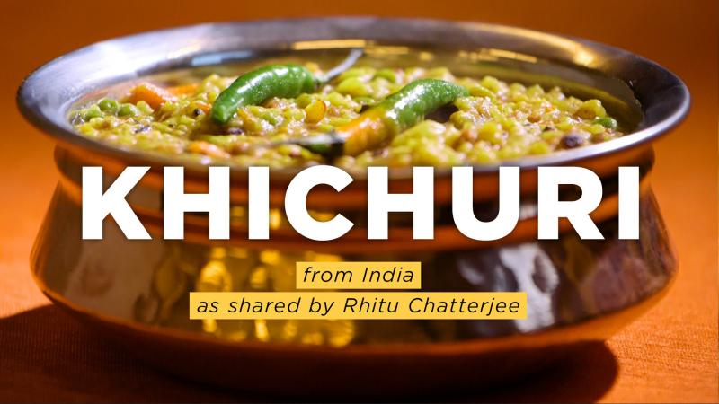 39 khichuri 39 an ancient indian comfort dish with a global for Ancient indian cuisine