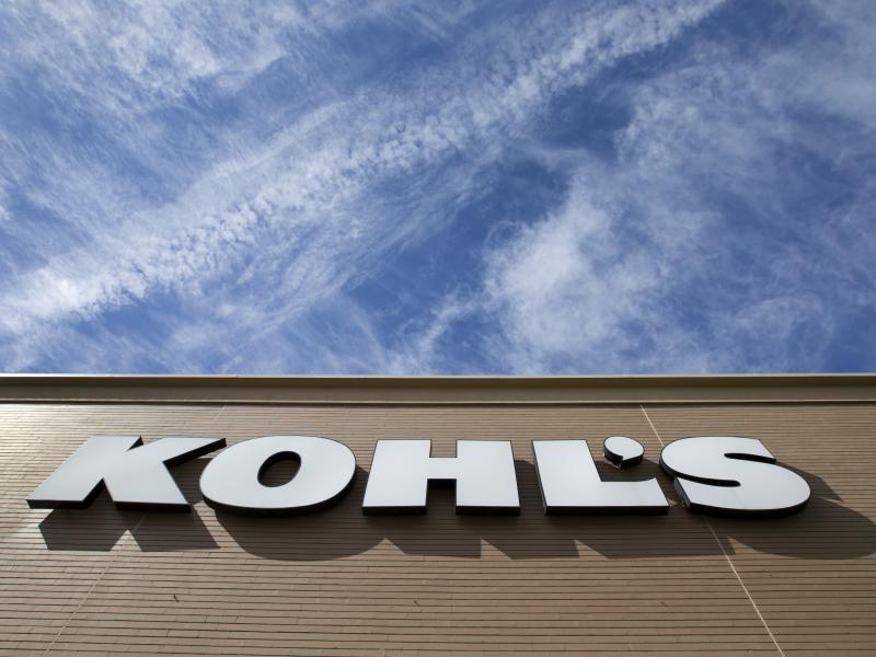 The retail chain Kohl's announced Wednesday that it will accept Amazon returns in all of its locations, sending its stock soaring.