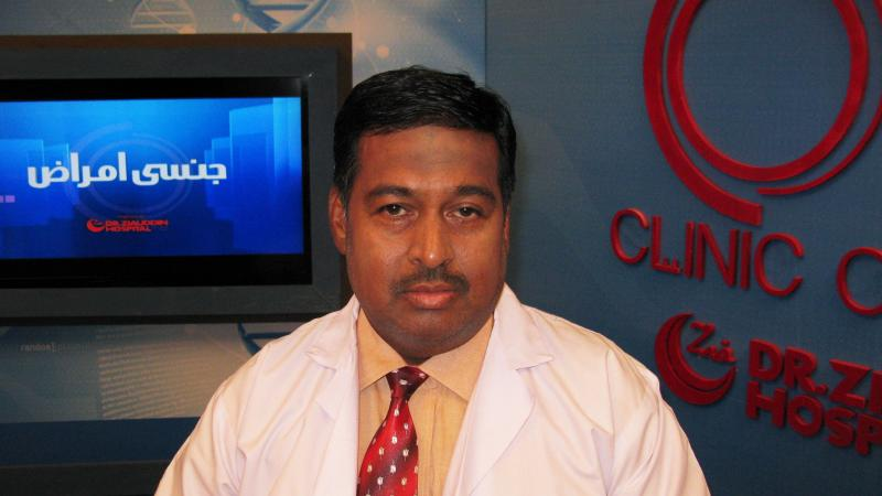 Dr. Nadim Uddin Siddiqui hosts a weekly call-in show about sexual issues on a Pakistani cable television channel. The program, Clinic Online, is a rarity for a conservative Muslim nation, but has proved popular, particularly among women.