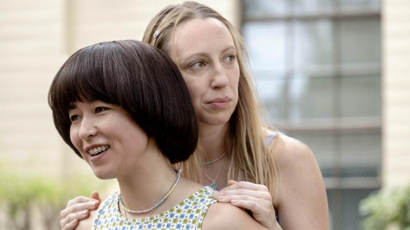 Maya Erskine and Anna Konkle star as middle-school besties Maya and Anna in the unconventional Hulu series PEN15.