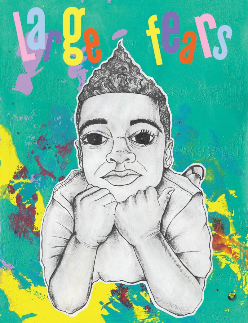 Myles Johnson and Kendrick Daye are raising money on Kickstarter to publish their children's book Large Fears.
