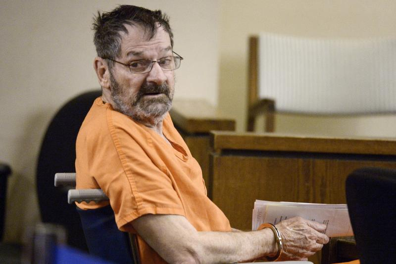Frazier Glenn Miller Jr., also known as Frazier Glenn Cross, in court in 2014 after he killed three people at Jewish sites in suburban Kansas City.
