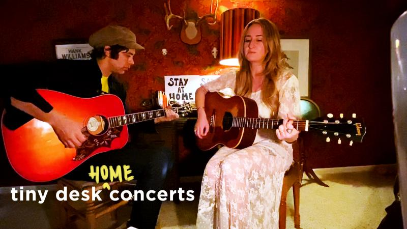 Margo Price & Jeremy Ivey play a Tiny Desk (Home) Concert.