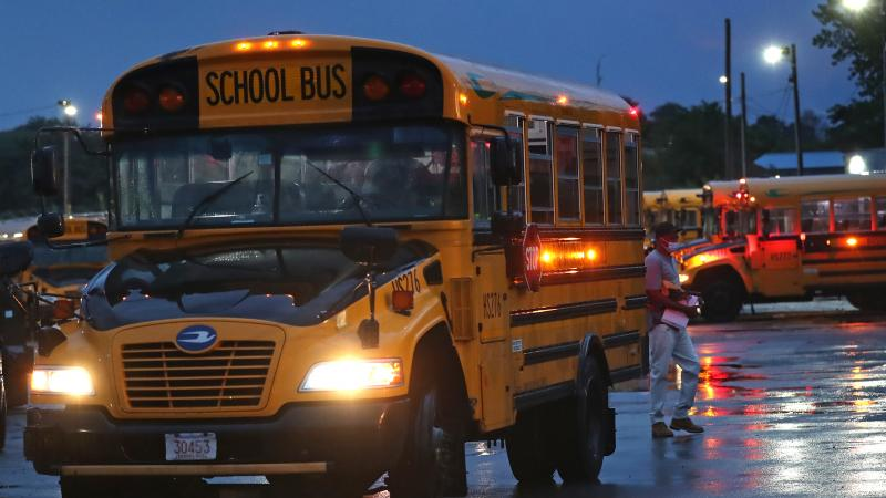 A shortage of school bus drivers for the Boston Public Schools has led to some delays this month. Gov. Charlie Baker is calling up National Guard members to help alleviate the shortage in some areas of the state.