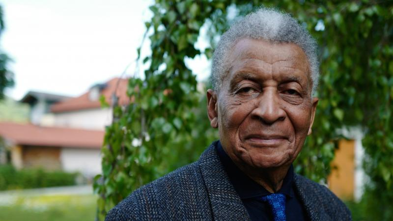South African composer and pianist Abdullah Ibrahim, one of the NEA's 2019 Jazz Master recipients, along with Maria Schneider, Bob Dorough and Stanley Crouch.