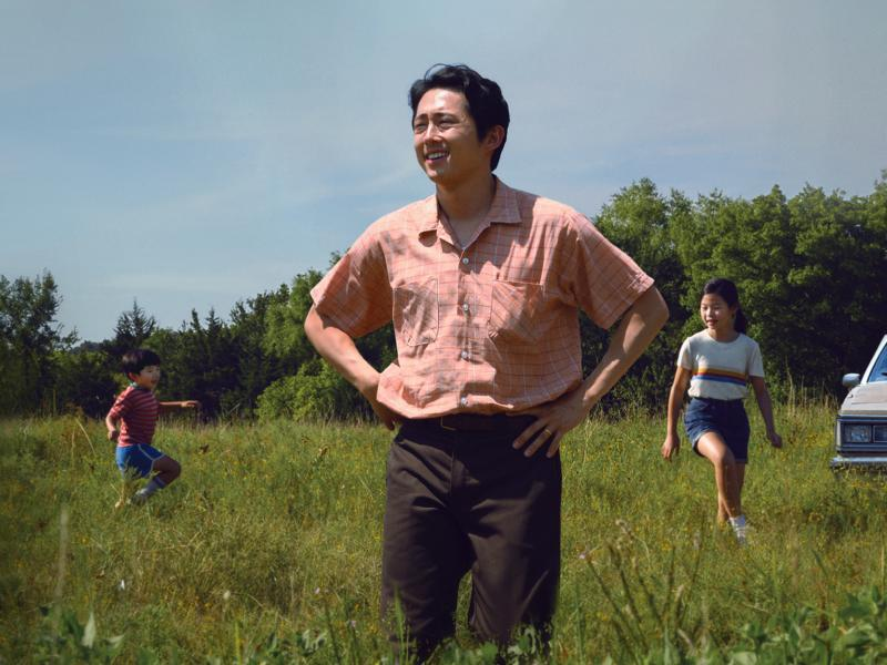 Jacob (Steven Yeun) moves his family from California to farm in rural Arkansas in Minari.