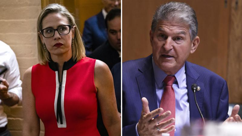 U.S. Sens. Kyrsten Sinema, D-Ariz., and Joe Manchin, D-W.Va., are the two most prominent Democrats to support the notion that the Senate needs to pursue bipartisan legislation on virtually every front.