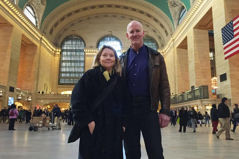 Karen Van Lengen and James Welty created a multimedia installation to encourage visitors to experience buildings like Grand Central Terminal not only through their eyes, but also their ears.