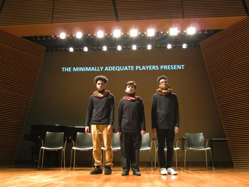 High school students perform 10467, a play they wrote about how their education has been effected by lack of resources.