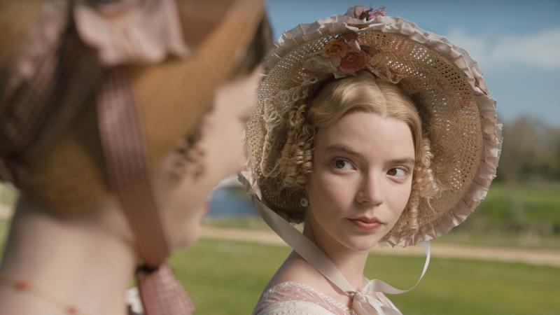 Anya Taylor-Joy stars the title character in director Autumn de Wilde's new adaptation of Emma.