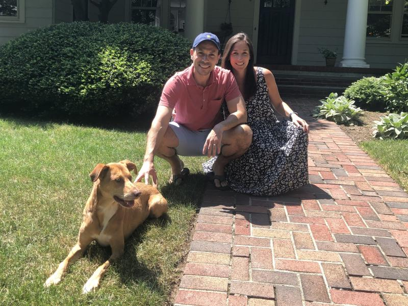 Until recently, Steven Kanaplue and Miriam Kanter were living in a one-bedroom apartment on Manhattan's Upper West Side with their dog Booey. The pandemic clinched their decision to move to Montclair, N.J.