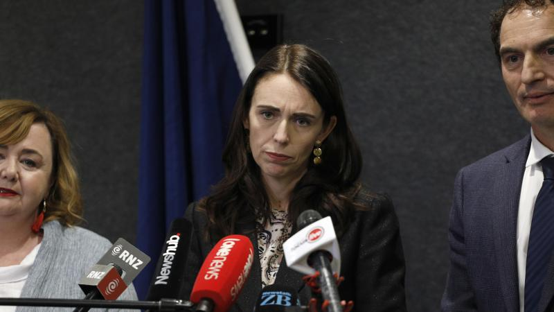 "Prime Minister Jacinda Ardern says her government is creating a national gun registry ""to prevent firearms from reaching the hands of criminals."" She announced the new plan alongside Police Minister Stuart Nash."