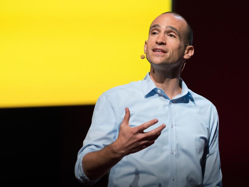 Nir Eyal on the TED stage
